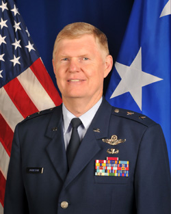 Major General Verle Johnston Commander, NY Air National Guard