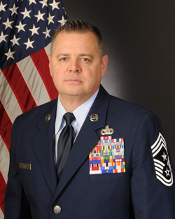 Chief Master Sgt. Richard King, Command Chief Master Sergeant, NY Air National Guard