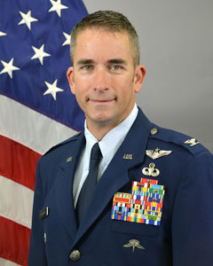 Colonel Shawn  Fitzgerald, Commander, 106th Rescue Wing