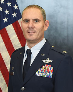 Colonel William   McCrink III, Commander, 174th Attack Wing