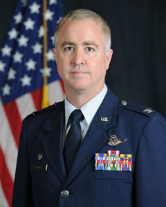 Colonel Paul J. Quigley, Commander 224th Air Defense Group