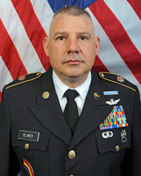 Command Sergeant Major Christopher K. Klimek, CSM, 3-142nd Attack Helicopter Battalion Command Sergeant Major
