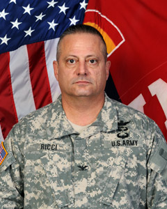 Colonel Albert J. Ricci Sr. - 42nd Combat Aviation Brigade Commander