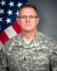 CSM Mark H. Wilson, 642nd Aviation Support Battalion Command Sergeant Major