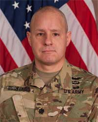 Lieutenant Colonel Todd M. Bookless, 642nd Aviation Support Battalion Commander