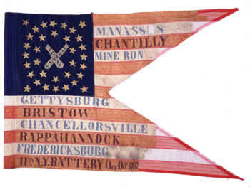 11th Independent Battery, NY Volunteers Guidon
