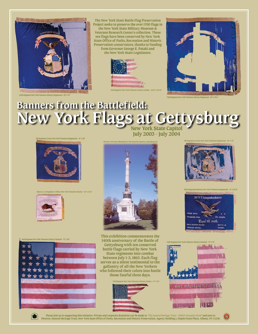 Banners from the Battlefield: New York Flags at Gettysburg