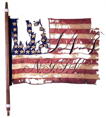 144th Regiment Flag