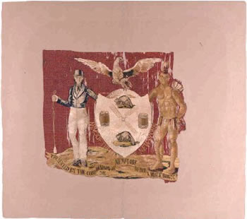 8th Infantry flag