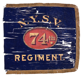74th Regiment NY Volunteer Infantry - Flank Marker