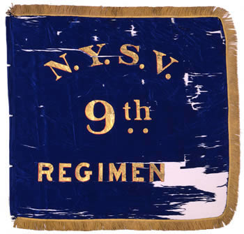 9th Regiment, NY Volunteer Infantry - Marker