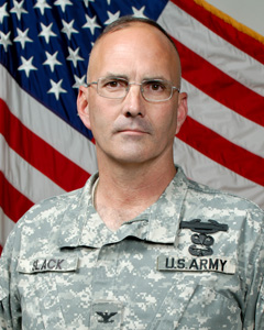 Col Geoffrey Slack - 27th Brigade Combat Team Commander