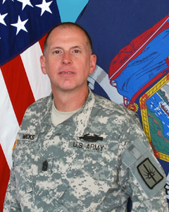 Command Sergeant Major Frank Wicks - New York National Guard Command Sergeant Major