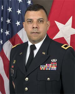 New York National Guard Director of Joint Staff, Brigadier General John Andonie
