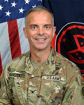 Colonel Robert  Charlesworth, Commander, 27th Brigade Combat Team