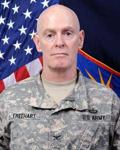Colonel James Freehart - 153rd Troop Command Commander