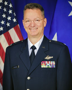Major General Anthony P. German, Commander, New York Air National Guard