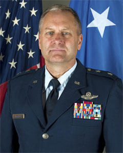 Major General Timothy J LaBarge, New York Air National Guard Commander