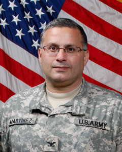 Colonel David Martinez - 369th Sustainment Brigade Commander