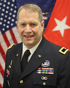 Brigadier General David J Warager, New York Guard Commanding General