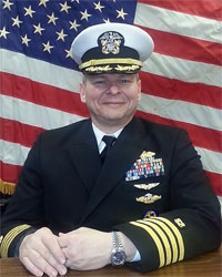 Captain Spiro C. Colaitis - Commander, New York Naval Militia Southern Command