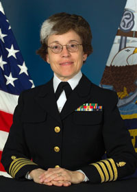 Captain Marylynn Marrese - Commander, New York Naval Militia Southern Command