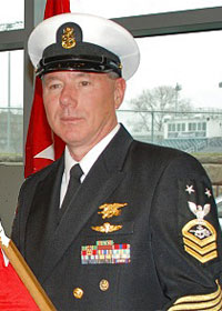 SOCM Charles A. Mach - Force Master Chief, Special Warfare Ops Master Chief, New York Naval Militia