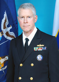 Rear Admiral (Lower Half) Warren  Smith, New York Naval Militia Commander