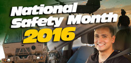 NYARNG National Safety Month Safety Month graphic