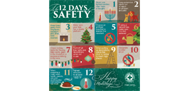 NYARNG 12 Days of Safety, 2016-2017 Safety Message graphic