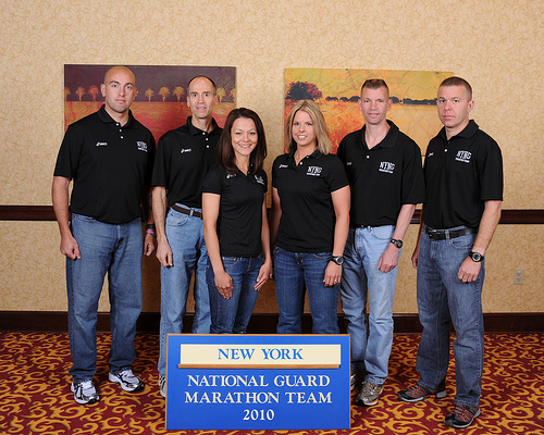NY National Guard Marathon Team, 2010