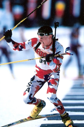 CPT Curt Schreiner, New York Army National Guard and Olympic Biathlon team member