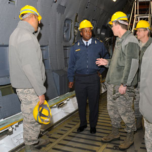 South African Senior Defense Attache Visits the 105th Arilift Wing 5