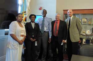 NY SPP - Africa Center for Strategic Studies during a Reverse Outreach trip 16-19 June 2013