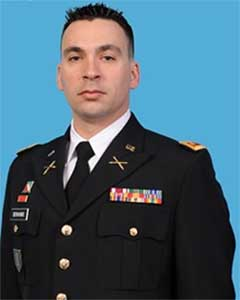 Major Brian S Bonanno, Republic of South Africa Bilateral Affairs Officer for New York