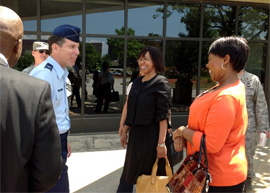 NY SPP - SA National Defence Force and NYANG visit - 1 of 2