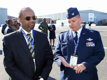 NY SPP - Briefing of the LC-130H Hercules Aircraft, Cape Town, South Africa