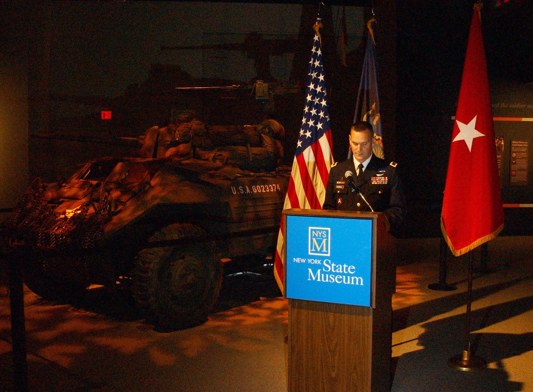 New York Army National Guard History Museum Display Opens