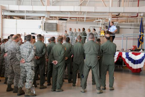 N.Y.  105th Airlift Wing Conducts Sexual Assault Prevention & Response Training