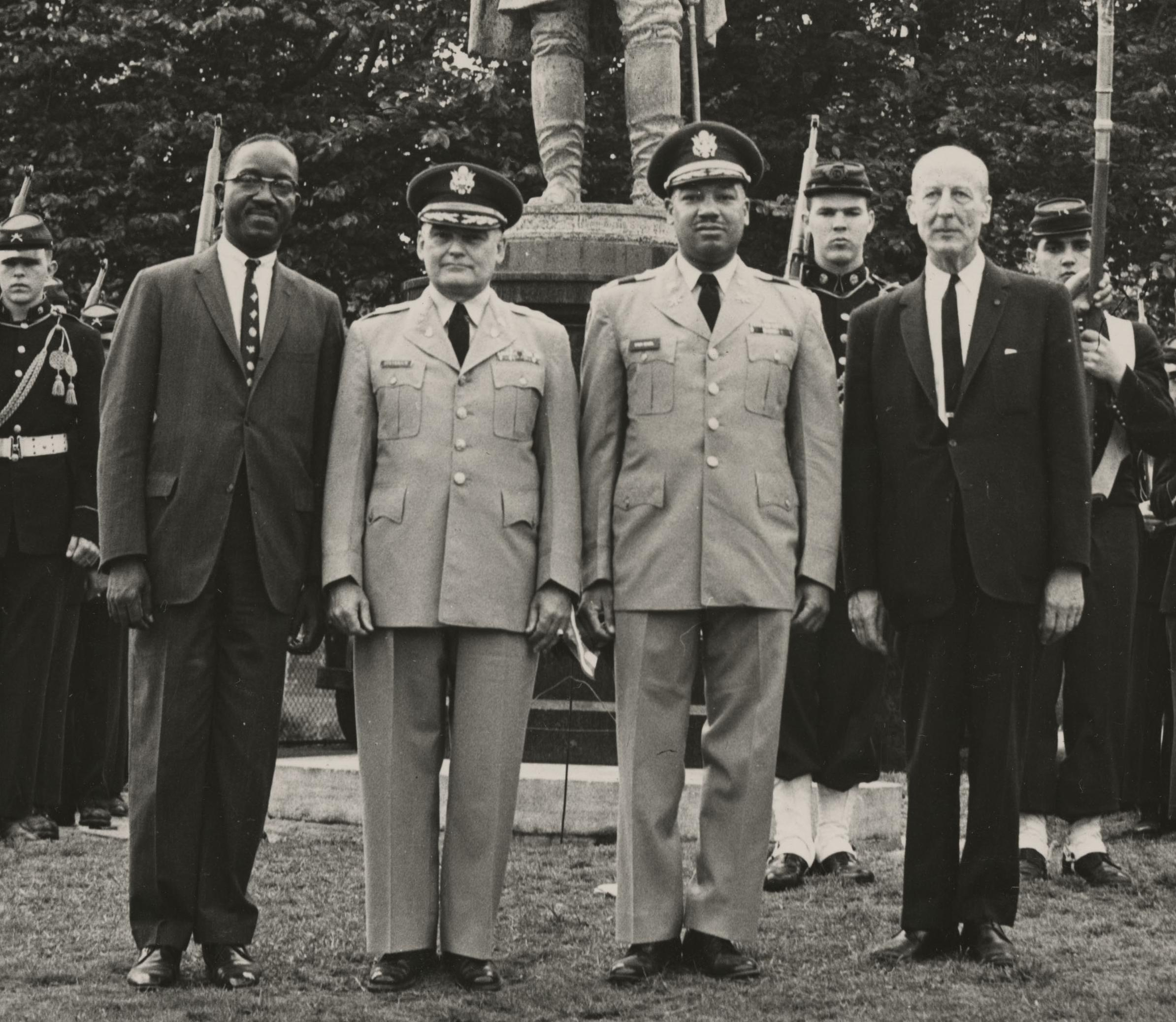 African American New York National Guard Officer Stood Strong Against Racism in 1964