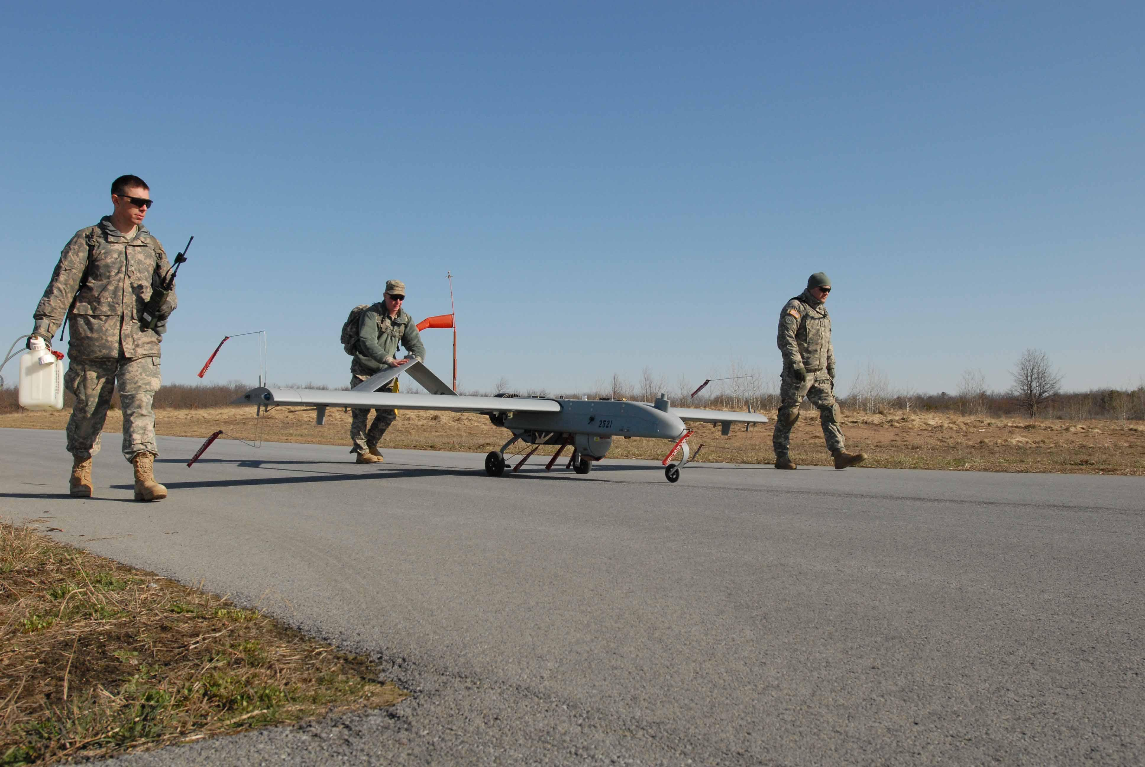 New York Army National Guard Soldiers Fly High, See All Via Unmanned Aircraft