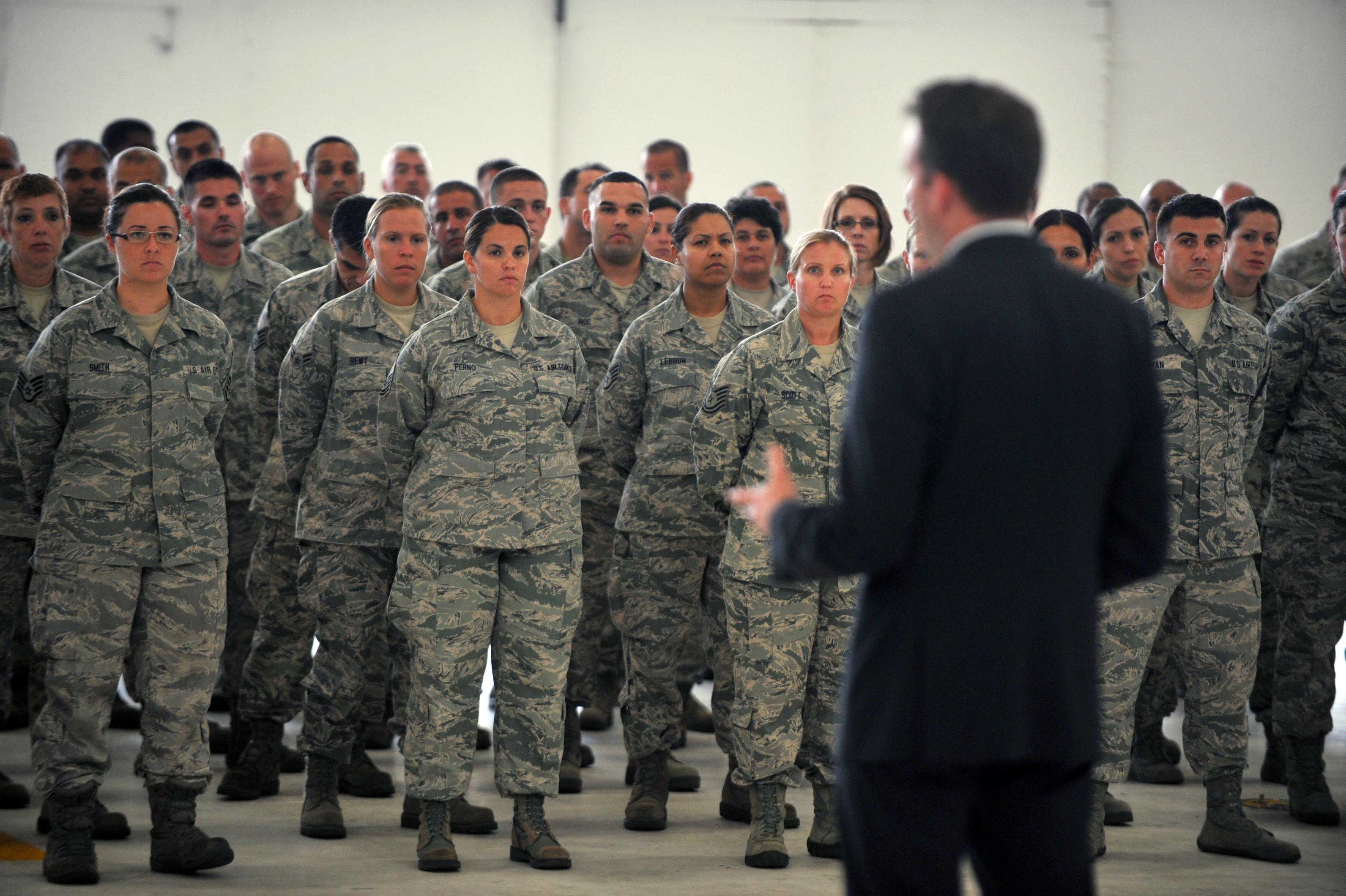 Acting Air Force Secretary Visits 106th Rescue Wing