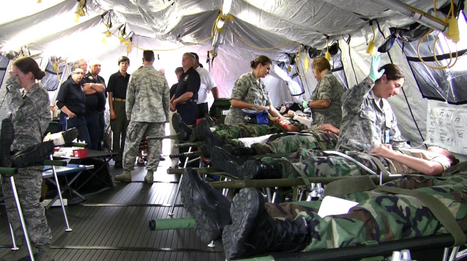 109th AW participates in National Disaster Medical System Exercise