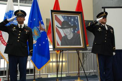Fallen New York Soldier Honored in Oils