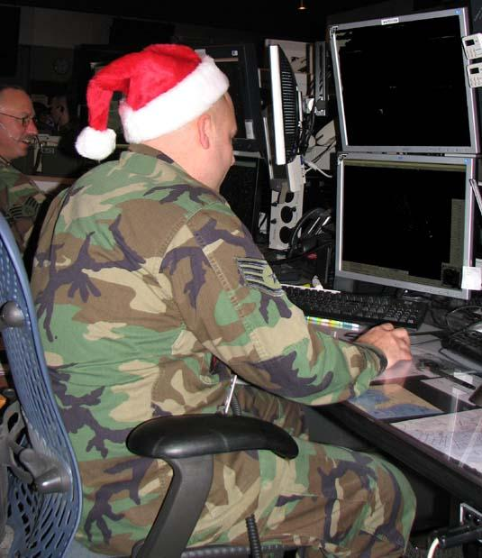 New York Guardsmen Lend Help to Track Santa's Flight Path