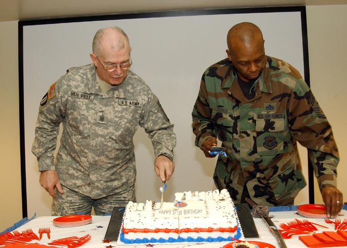 New York Celebrates Guard Birthday