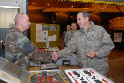 New Air Mobility Command Boss Visits New York Air Guard