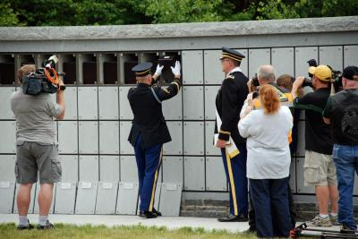 Honor Guard supports program for unclaimed veterans' remains