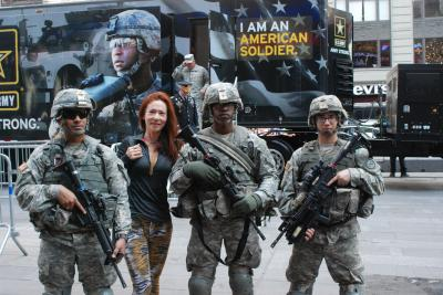 69th Infantry Soldiers Help Celebrate Army Birthday in Times Square