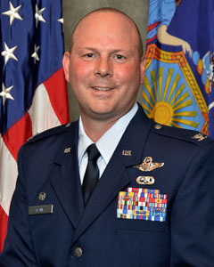Colonel Michael W Bank, Commander, 106th Rescue Wing